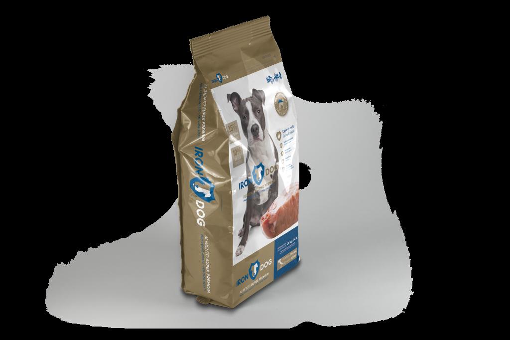 costales de croquetas para perro iron dog adulto 3 y 20 kilo