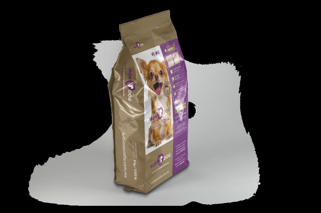 comida de perro iron dog super premium para adultos de razas pequenas